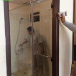 Vách kính phòng tắm tại Bình Thạnh