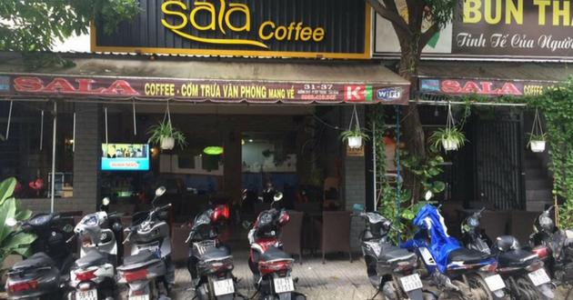 PYDOCA hoàn thành công trình LẮP VÁCH KÍNH CỬA LÙA cho CHỦ QUÁN Cafe SALA Ở QUẬN TÂN PHÚ, tp.HCM