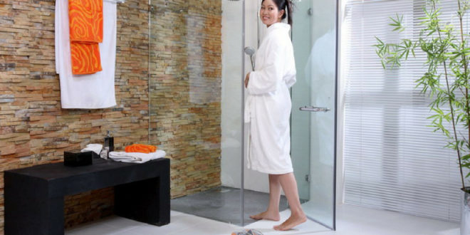 Vách tắm kính CƯỜNG LỰC sang trọng cho phòng tắm