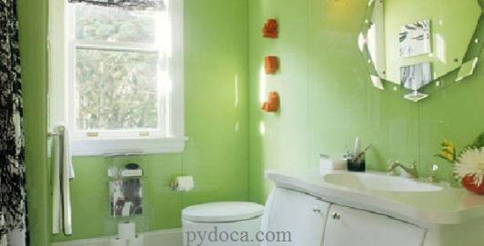 Kính màu ốp tường đẹp