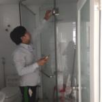 Phòng tắm kính 10 ly cường cực