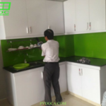 Kính ốp bếp tại Tân Phú