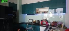 Kính ỐP bếp lắp tại chung cư Horizon Tower quận 1