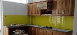 Kính ốp bếp, phòng tắm kính lắp ở quận 8