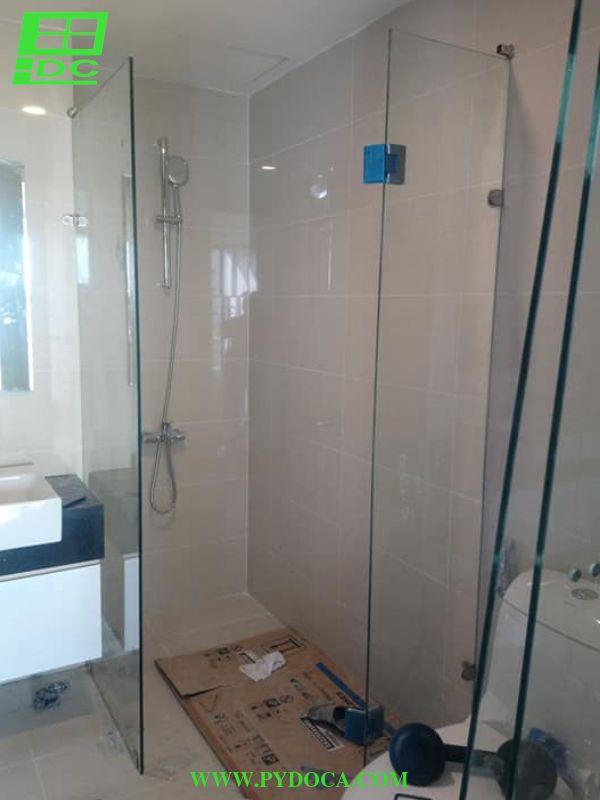 Lắp phòng tắm kính thứ 2