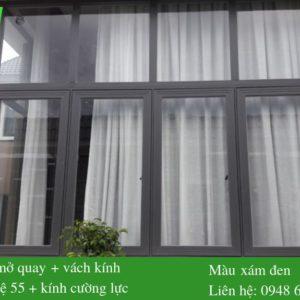 Mẫu cửa sổ mở quay