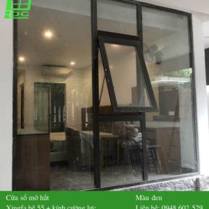 Mẫu cửa sổ nhôm Xingfa mở bật
